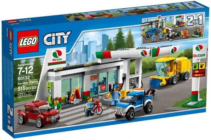 Lego City 60132 Benzínová stanice - 0