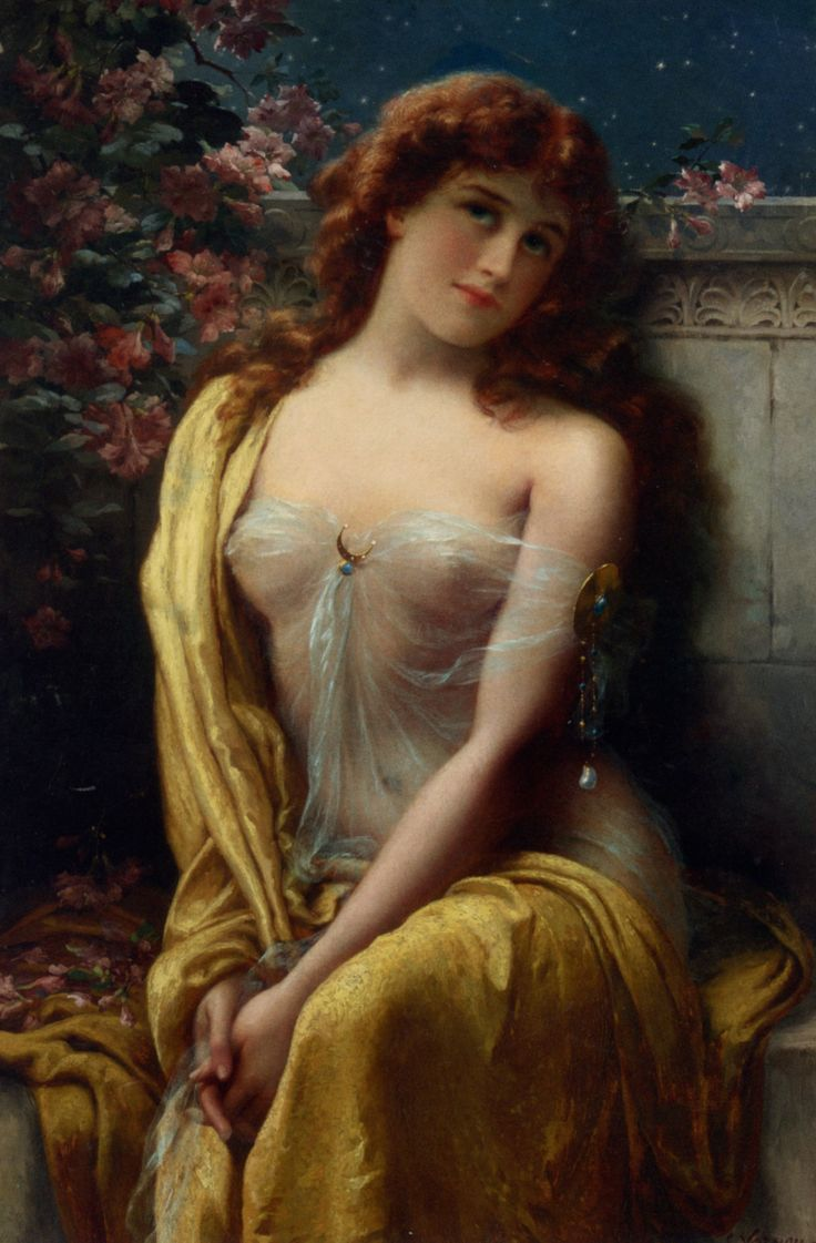 """Starlight"" by Emile Vernon When women were appreciated for their curves."