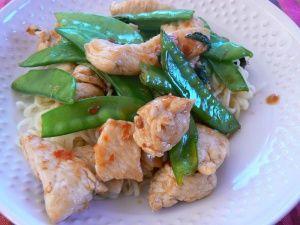 Wok de poulet, piment & basilic thaï | Ma p'tite cuisine