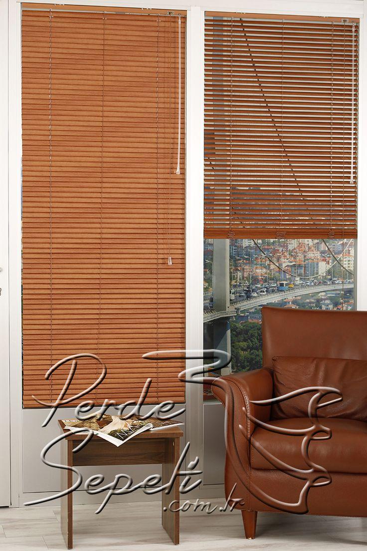 Kiraz Alüminyum Ahşap Desenli 25mm Perde - Alüminyum jaluziler de güneş ışığının içeriye girmesini istediğimiz şekilde ayarlayabiliriz. Genellikle ofislerde ve modern döşenmiş mekanlarda tercih edilir. Ahşap görünümüyle alüminyum jaluzi serisinde farklılık yaratır. / http://www.perdesepeti.com.tr/aluminyum_jaluzi/kiraz-aluminyum-ahsap-desenli-25mm-perde
