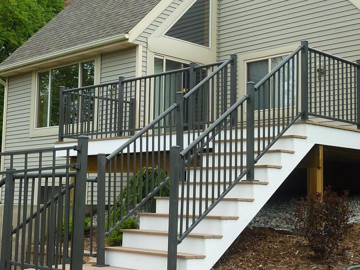 decorative aluminum railing. Bronze ornamental aluminum railing and fence 46 best Railing Aluminum Ornamental images on Pinterest