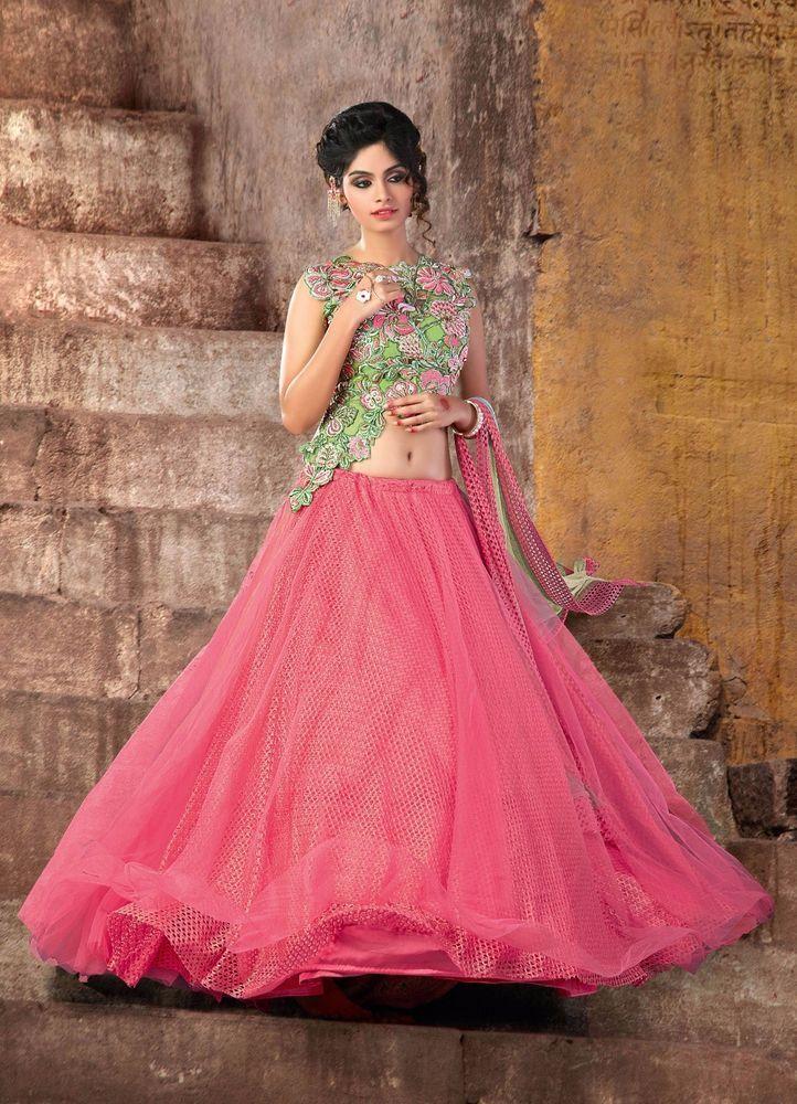 Bollywood Traditional Pakistani Wedding Bridal Lehenga Choli wear Indian Ethnic #TanishiFashion