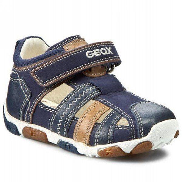 Geox Balu Nubuc Sandals Navy