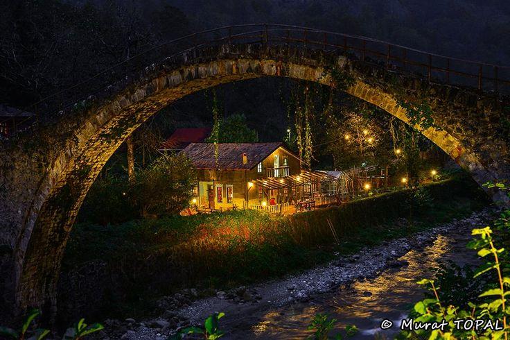 Rize Çamlıhemşin Şen yuva köyü