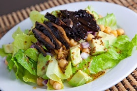 Closet Cooking: Roasted Portobello Mushroom Salad