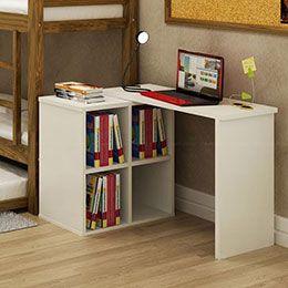 Escrivaninha/Mesa Adapte Branco - Made Marcs