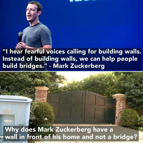 It's good for thee, but not for ME! Mark Zucklerberg = USEFUL IDIOT OF THE NWO!