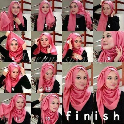 Learn Top New Cool and Easy Hijab Styles