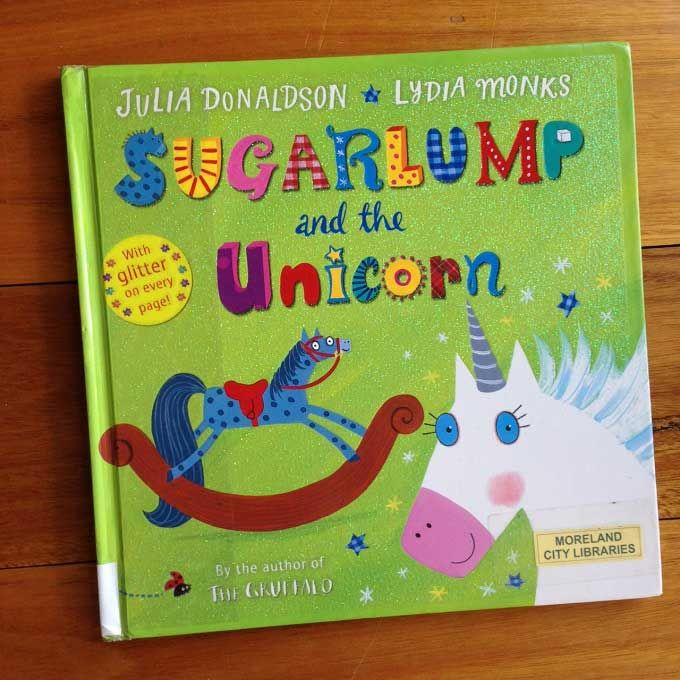 From the author of The Gruffalo, Sugarlump and the Unicorn is a great read for lovers of horses, unicorns, wishes and glitter!