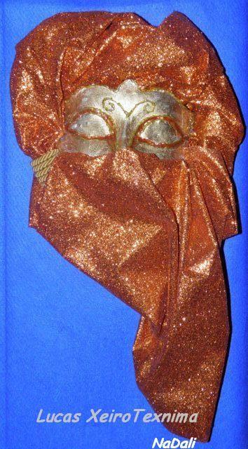 μάσκα από γυψόγαζα