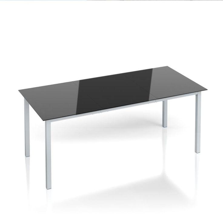 Dieser Moderne Und Stilechte Aluminium Glas Tisch Fugt Sich Ideal