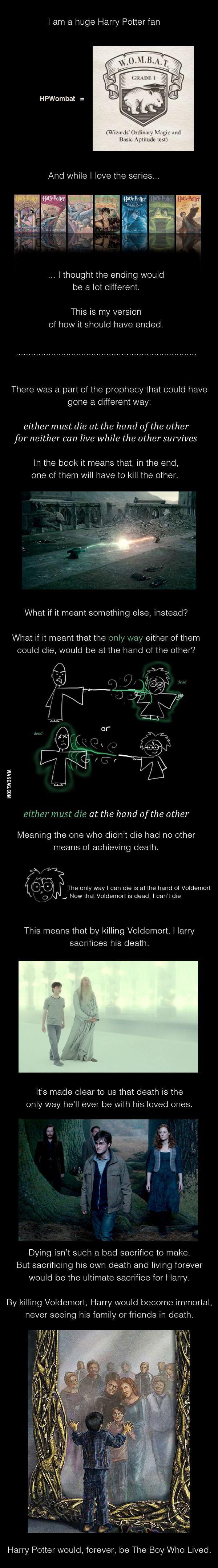 Haary Potter Geek - amazing theory! :O