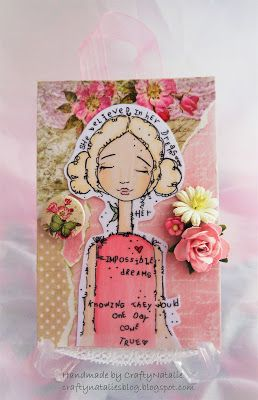 CraftyNatalie's Blog!: Day Dreamer Canvas. Wonky Tonk Day Dreamer. Tracy Easson. Which craft