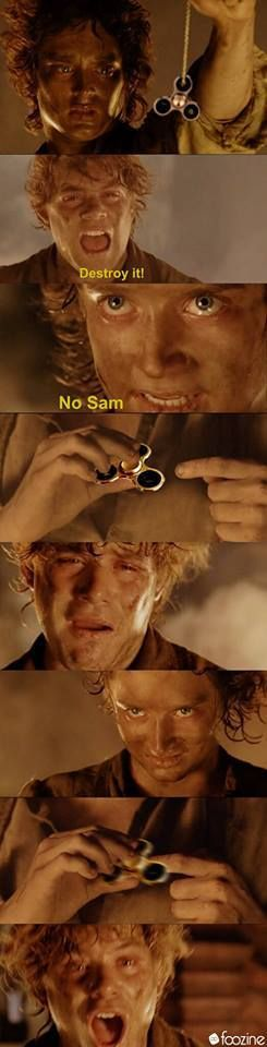Unfortunately, Bilbo had killed Gollum and he was unable to  come rescue the world.....
