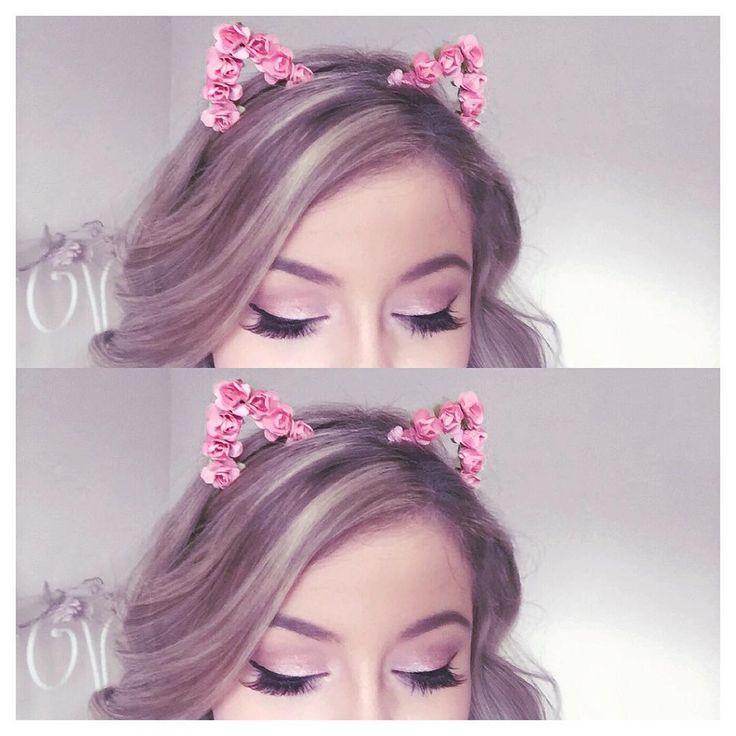 Floral Cat Ears Headband lovecatherine.co.uk Instagram catherine.mw xo