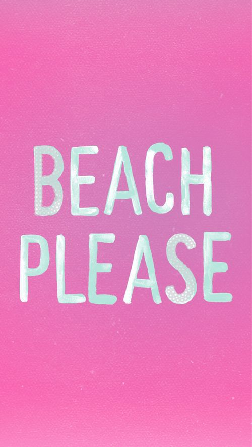 We could eat drink and sleep at the beach! #livehappy #pink