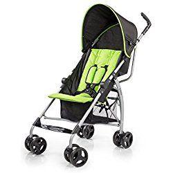 Summer Infant GOlite Convenience Stroller, Go Green Go