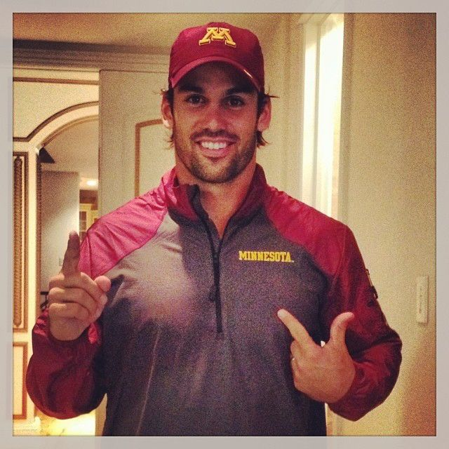 #12 - He Attended the University of Minnesota from 12 Things You Didn't Know About Eric Decker Eric Decker attended the University of Minnesota, where he played football and baseball.