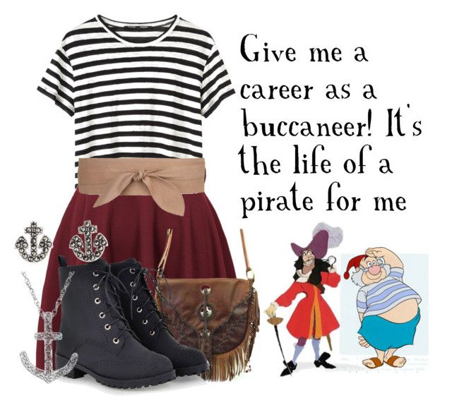 A Pirate's Life for Me by karlynedc on Polyvore featuring Proenza Schouler, Jens Pirate Booty, Judith Jack, Reeds Jewelers and MANGO