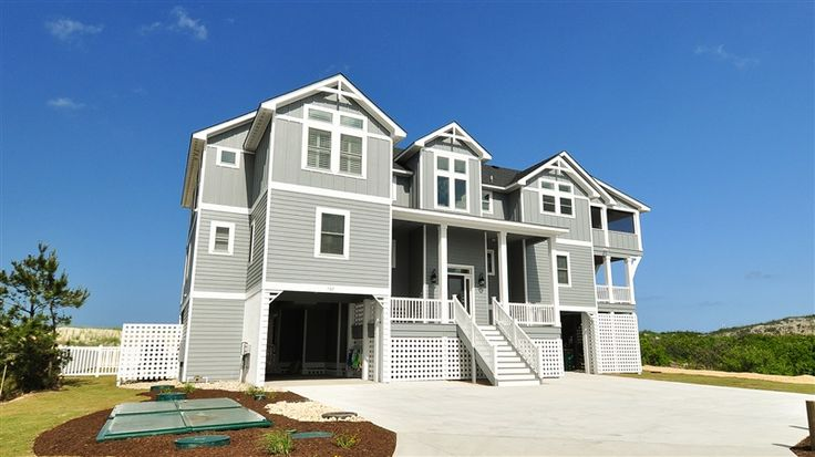 Twiddy Outer Banks Vacation Home Come As You Are Corolla Oceanfront 10 Bedrooms