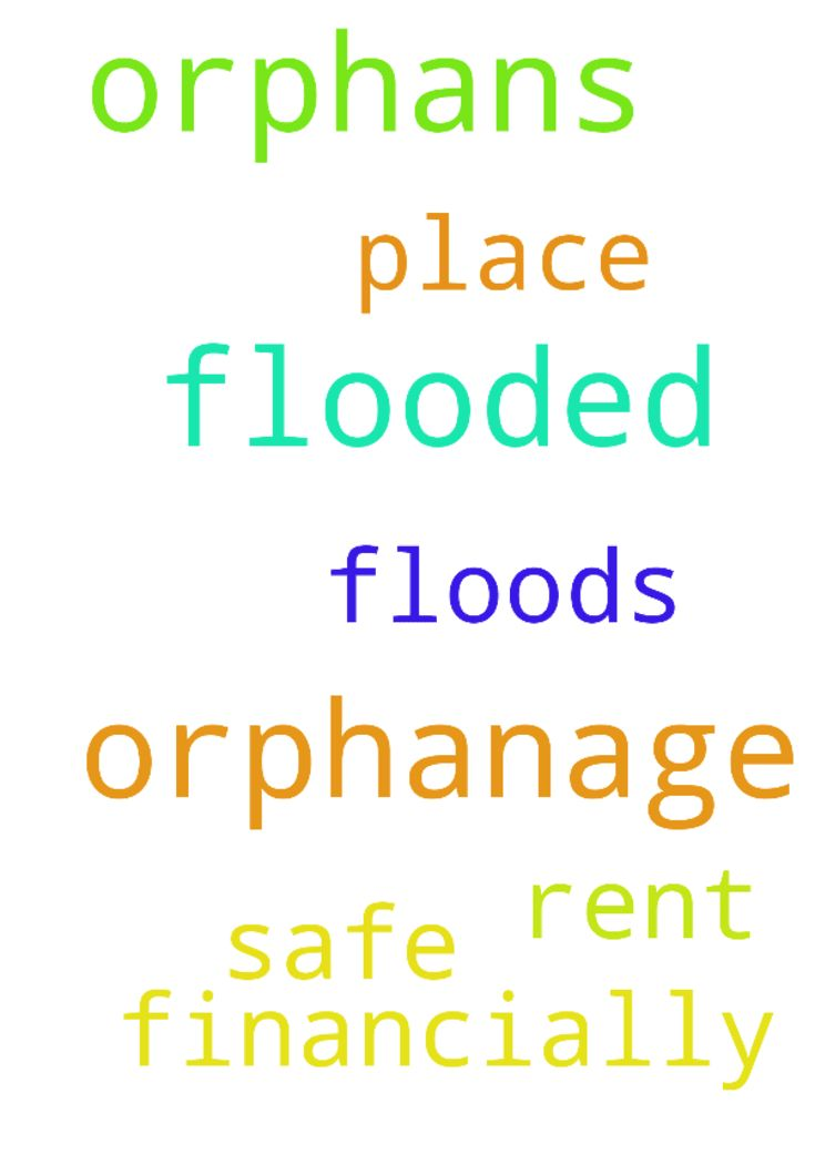 God help orphans after orphanage was flooded. -  God help orphans after orphanage was flooded. Help them financially. Help them get a safe place to rent after the floods. Amen  Posted at: https://prayerrequest.com/t/Rsi #pray #prayer #request #prayerrequest