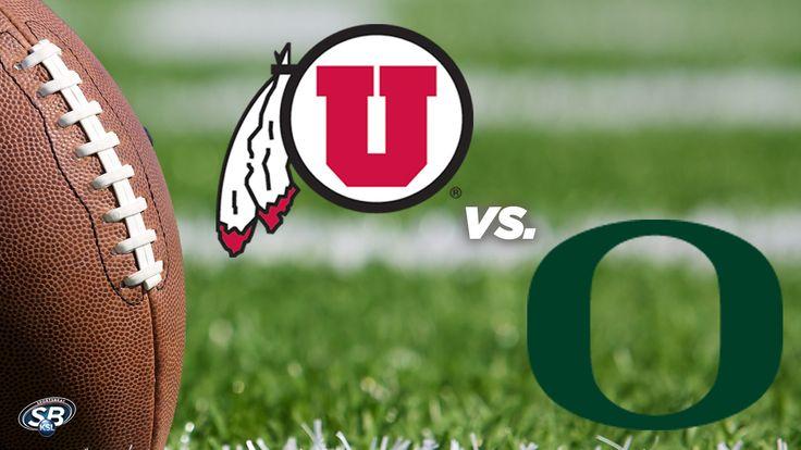 Game #10 Sat 11.08.14 No. 5 Oregon Ducks vs No. 20 Utah Utes in Salt Lake City. FINAL SCORE: 51-27 DUCKS WIN clinching PAC-12 NORTH!