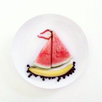 Loving this food art! via Culinary Canvas