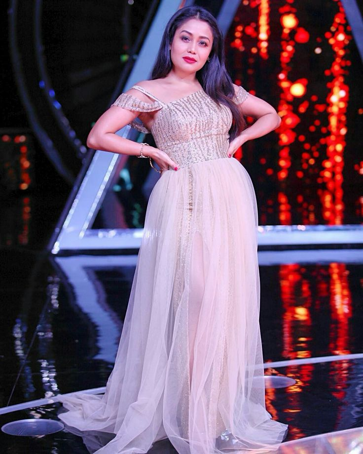 Neha kakkar Neha kakkar dresses, Bollywood dress, Dresses