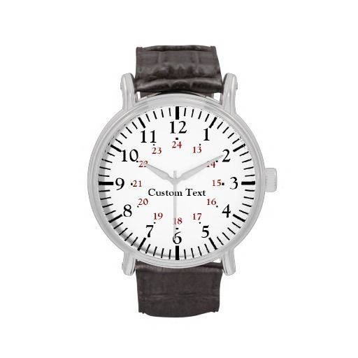 >>>best recommended          	24 Hour Military Time Personalized Watch           	24 Hour Military Time Personalized Watch lowest price for you. In addition you can compare price with another store and read helpful reviews. BuyHow to          	24 Hour Military Time Personalized Watch please fo...Cleck Hot Deals >>> http://www.zazzle.com/24_hour_military_time_personalized_watch-256676177296606617?rf=238627982471231924&zbar=1&tc=terrest