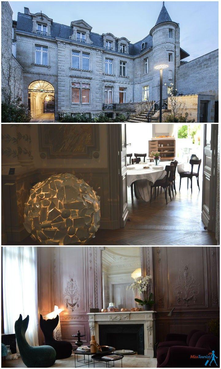 Bordeaux France hotel 5 start Yndo