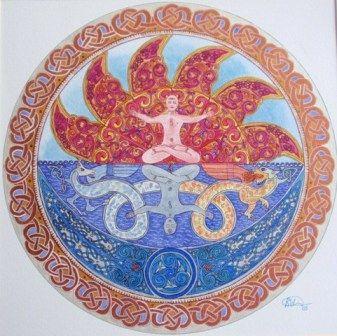 """Mandala """"dualidad"""""""