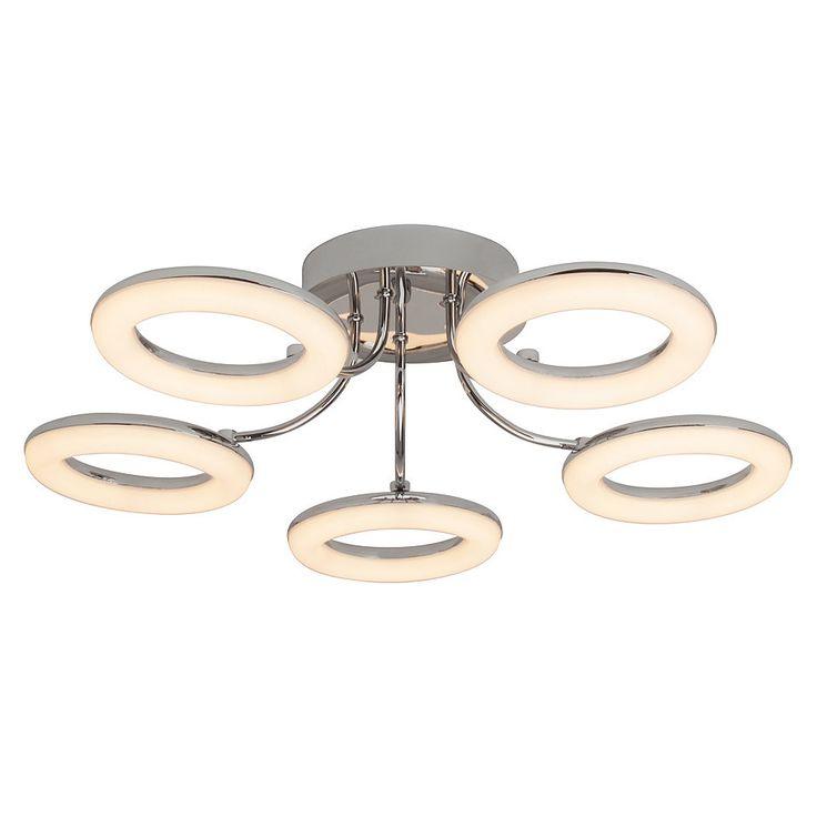 Good Brilliant Leuchten Donut LED Deckenleuchte flammig chrom wei Jetzt bestellen unter