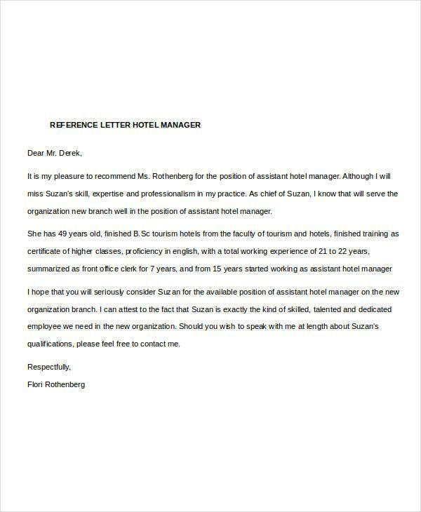 Image Result For Sample Recommendation Letter Of A Hotel Https Nationalgriefawaren Reference Letter Letter Of Recommendation Format Letter Of Recommendation