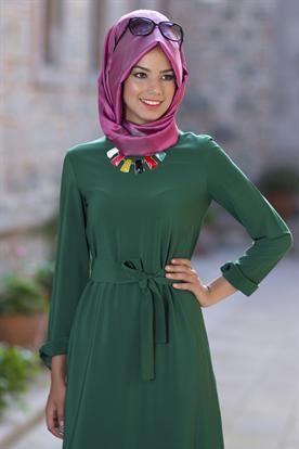2018 Yeşil Kalem Tesettür Elbise hakkında bilgilere bu sayfadan ulaşarak, ürünleri aynı zamanda alabilirsiniz.