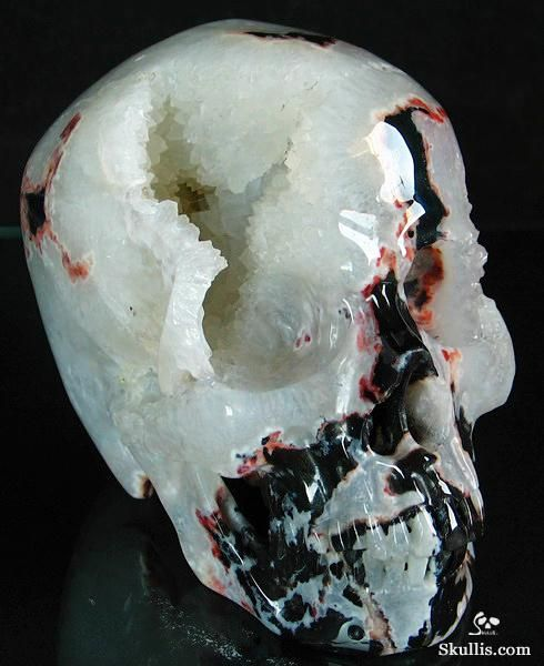 blue minerals and rocks | rock carved skull geode minerals mineral stone carved skull
