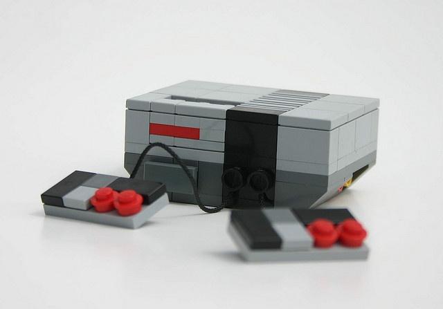 Nintendo NES by Arkøv #LEGO #Nintendo #NES