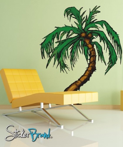 89 best Decals / Stencils / Wallpapers images on Pinterest | Palm ...
