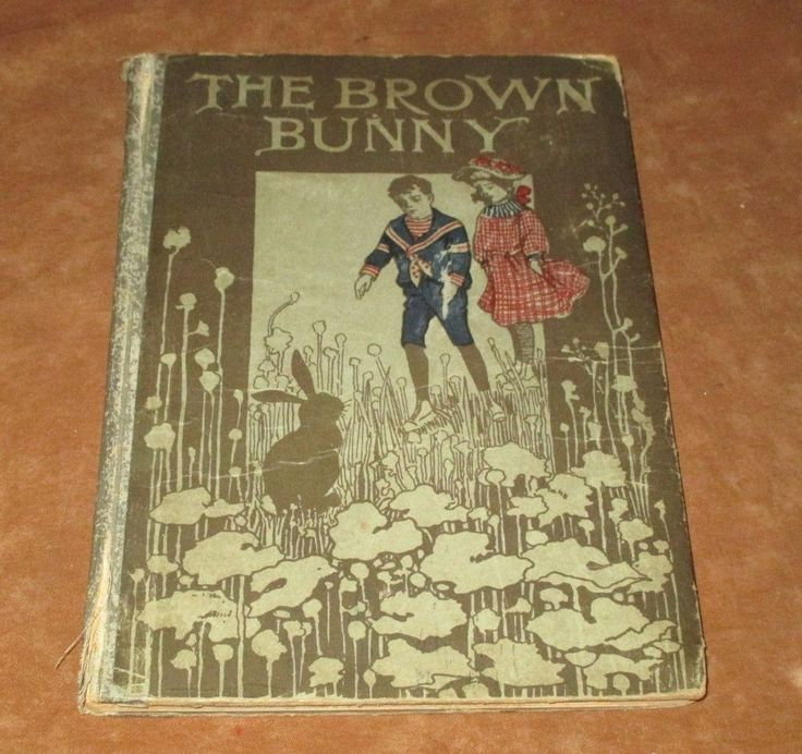 THE BROWN BUNNY - ANTIQUE CHILDREN'S BOOK - STUART - PRATT  | eBay