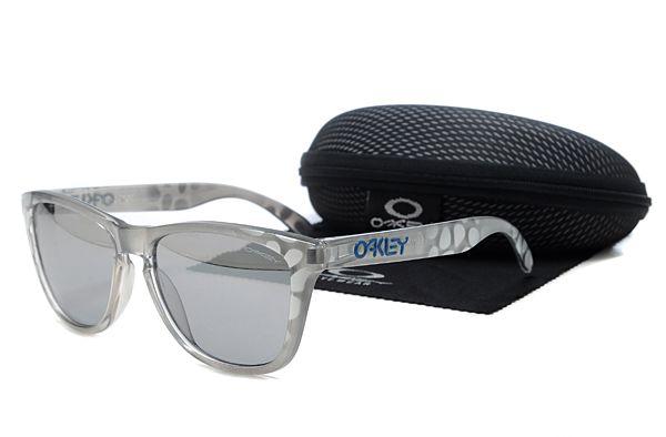 Oakley Frogskins Sunglasses Gray Spots Frame Gray Lens , sales promotion  $16 - www.hats-malls.com
