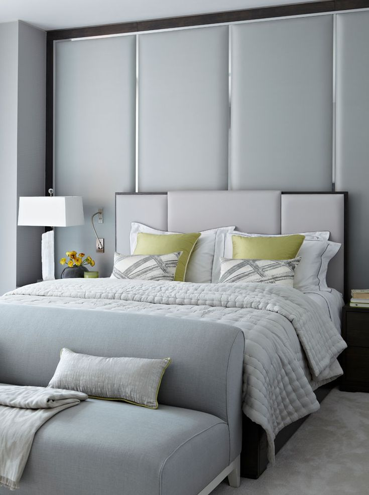 25 best ideas about grey upholstered headboards on 11726 | c7f41bbf628548a1360cf0d9fe229a2d