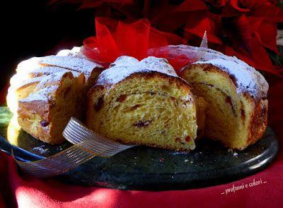 .....profumi e colori .....: Treccia russa o Corona natalizia per un augurio speciale