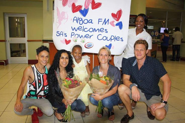 A warm welcome to the friendly city, saw Radio Algoa hosting the Power Couples for the Port Elizabeth leg of their Lottostar, Power Couple promotional tour.