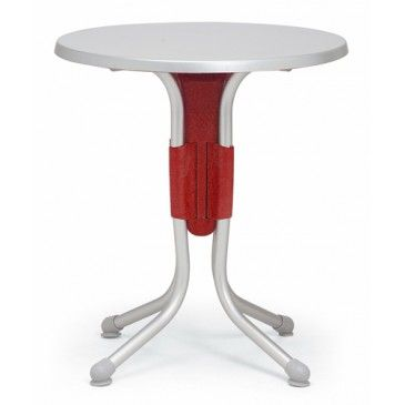 #polorotondo easy folding table for the terrace #summer #outdoorliving #roundtable #colors