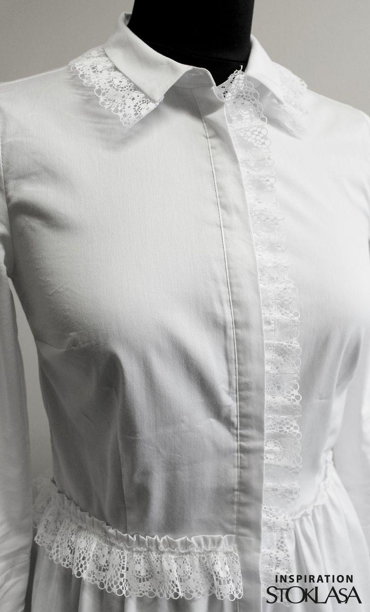 Krajkový volánek šíře 40 mm | STOKLASA textilní galanterie
