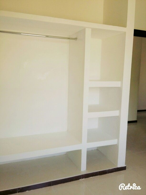 1000 images about closet drywall on pinterest drywall for Closet de cemento modelos