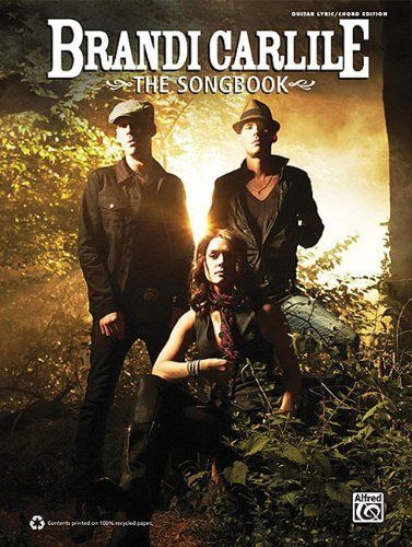 Brandi Carlile -- The Songbook: Guitar/Lyrics/Chords (Guitar Songbook) by Brandi Carlile. Save 31 Off!. $13.88. Publisher: Alfred Publishing (July 1, 2011). Series - Guitar Songbook. Publication: July 1, 2011