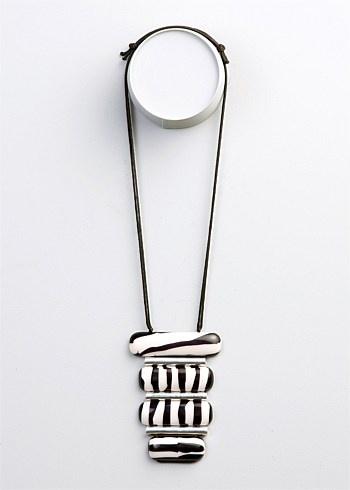 #TS14+ Zebra Necklace  #plussize #curvy #racewear #derby
