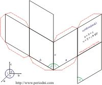 3D Paper models of crystal systems Crystal systems are the easiest to understand when you hold them in your hand. Craft 3D paper models of seven basic crystal systems (cubic, tetragonal, orthorhombic, hexagonal, rhombohedral, monoclinic and triclinic).