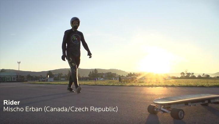 En #video #RecordGuinness de velocidad de un patín eléctrico  Vehículos record velocidad video