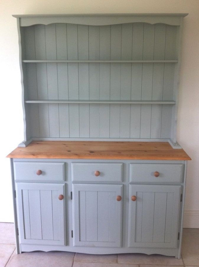 Welsh Dresser Wonder If I Could Re Mine To Look Like This Shabby Chic Kitchencountry